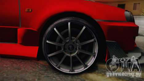 Nissan Skyline R34 Tuned для GTA San Andreas вид сзади слева