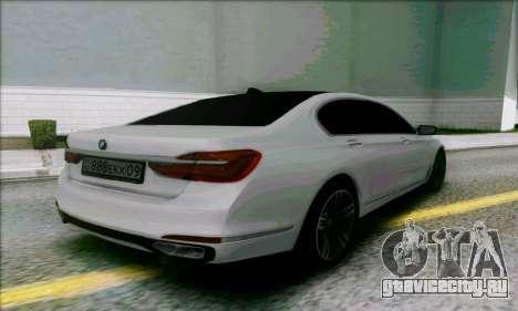 BMW 7 для GTA San Andreas вид слева