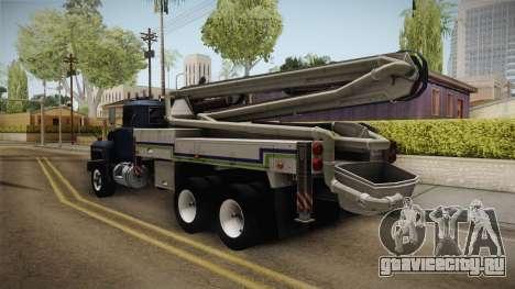 Mack RD690 Pump 1992 v1.0 для GTA San Andreas вид сзади слева
