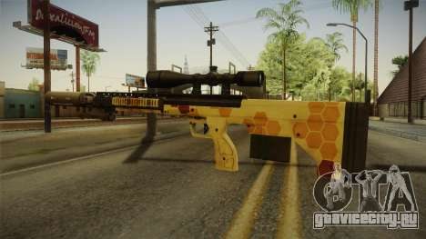 DesertTech Weapon 1 Camo для GTA San Andreas второй скриншот