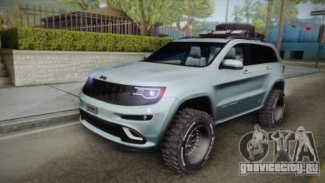 Jeep Grand Cherokee SRT Lifted для GTA San Andreas