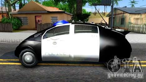 Alien Police San Fierro для GTA San Andreas вид слева
