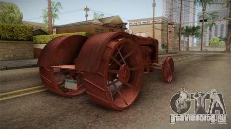 GTA 5 Tractor Worn для GTA San Andreas вид слева