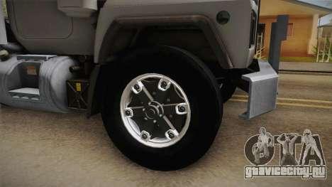 Mack RD690 Tractor 1992 v1.0 для GTA San Andreas вид сзади