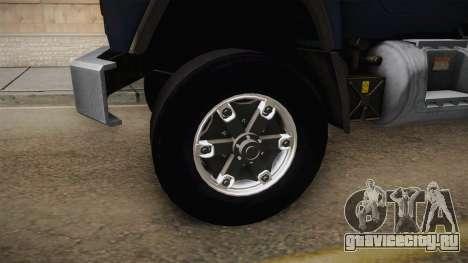 Mack RD690 Pump 1992 v1.0 для GTA San Andreas вид сзади