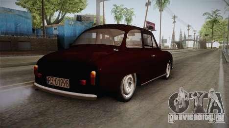 FSM Syrena 105 для GTA San Andreas вид справа
