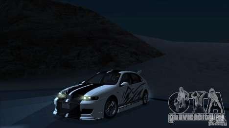 2003 Seat Leon Cupra R Series I для GTA San Andreas вид сбоку