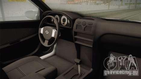 Renault Samsung SM3 CE 2010 для GTA San Andreas вид сбоку