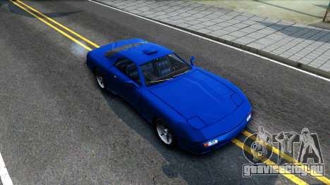 ZR-350 Update для GTA San Andreas вид справа