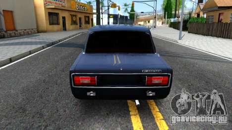 ВАЗ 2106 v1 для GTA San Andreas вид сзади слева
