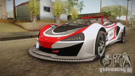 GTA 5 Progen Itali GTB Custom для GTA San Andreas салон