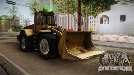 Driver: PL - Dozer для GTA San Andreas вид сзади слева