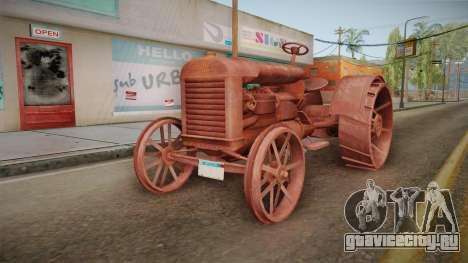 GTA 5 Tractor Worn для GTA San Andreas вид справа