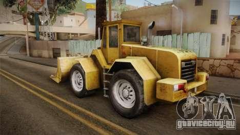 Driver: PL - Dozer для GTA San Andreas вид справа