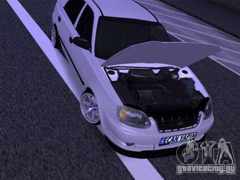 Hyundai Accent - Ecan Yapim для GTA San Andreas вид справа