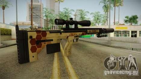DesertTech Weapon 1 Camo Silenced для GTA San Andreas третий скриншот