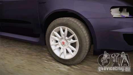 Fiat Stilo для GTA San Andreas вид сзади