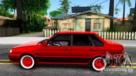 ВАЗ 2115 Retro Style для GTA San Andreas вид слева