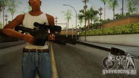 CoD 4: MW - Barrett M82 Remastered для GTA San Andreas