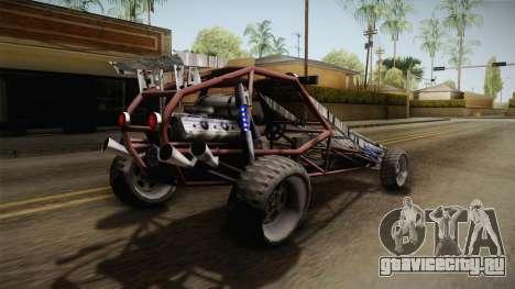 Bandito Ramp Car для GTA San Andreas вид справа