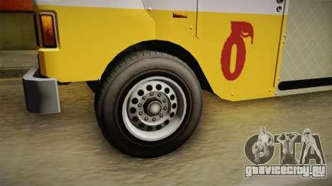 GTA 5 Brute Taco Van IVF для GTA San Andreas вид сзади