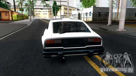 Nissan 280ZX Transformers G1 Bluestreak для GTA San Andreas вид сзади слева