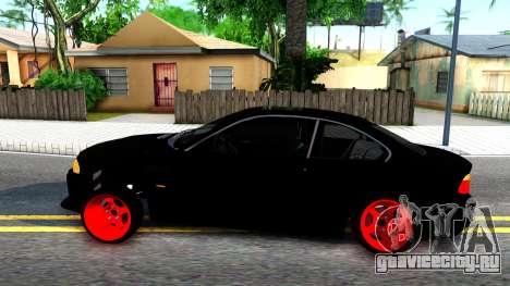 BMW 3-er E46 для GTA San Andreas вид слева