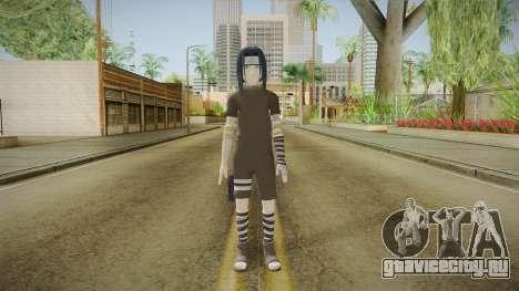 NUNS4 - Sasuke Genin Black Clothes Sharingan для GTA San Andreas второй скриншот