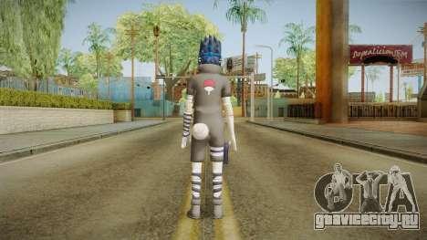NUNS4 - Sasuke Genin Black Clothes Sharingan для GTA San Andreas третий скриншот