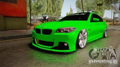 BMW M5 F10 Hulk для GTA San Andreas