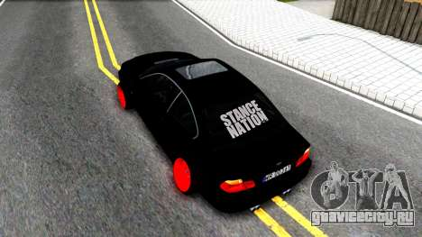 BMW 3-er E46 для GTA San Andreas вид сзади