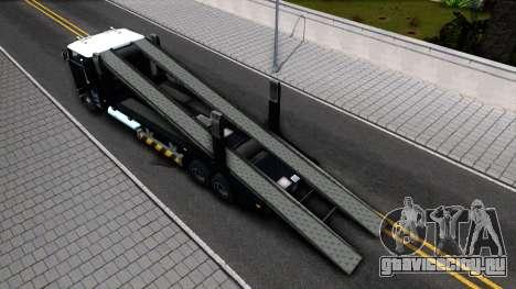 Hauler Packer для GTA San Andreas вид сзади