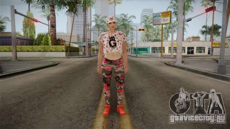 GTA Online DLC Import-Export Female Skin 2 для GTA San Andreas второй скриншот