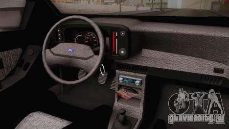 Ford Scorpio Sedan 2.8VR6 GTI для GTA San Andreas вид изнутри