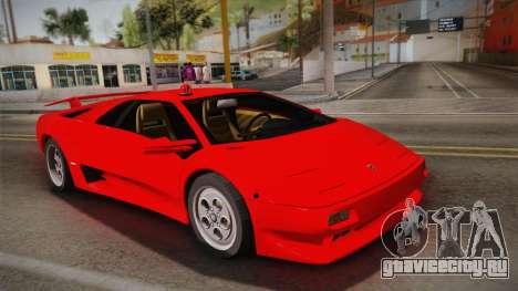 Lamborghini Diablo VT FBI 1995 для GTA San Andreas
