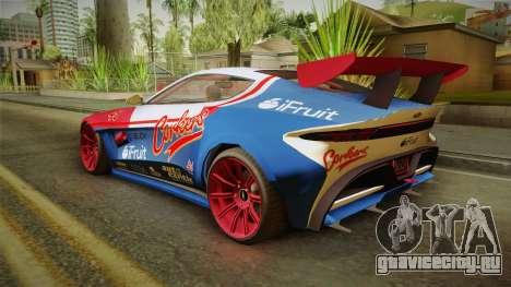 GTA 5 Dewbauchee Specter Custom IVF для GTA San Andreas колёса