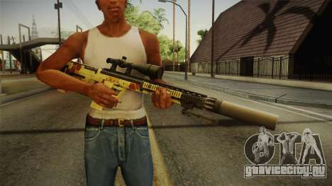 DesertTech Weapon 1 Camo для GTA San Andreas третий скриншот