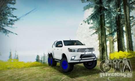 Toyota Hilux Arctic Trucks 6x6 для GTA San Andreas