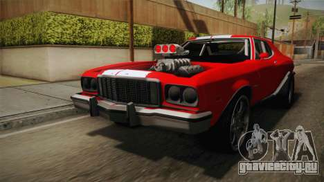 Ford Gran Torino 1975 Drag для GTA San Andreas вид справа