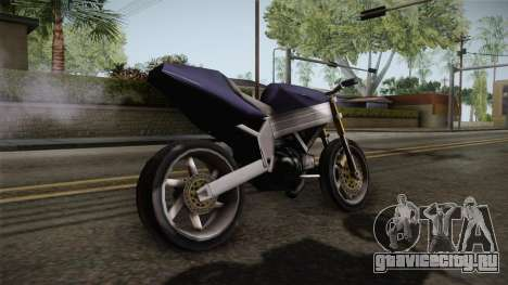 FCR-900 Stunt v1 для GTA San Andreas вид слева