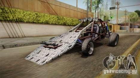 Bandito Ramp Car для GTA San Andreas вид сзади слева