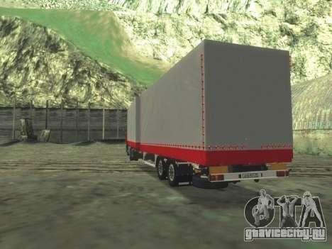 Прицеп Chereau на MAN F2000 для GTA San Andreas
