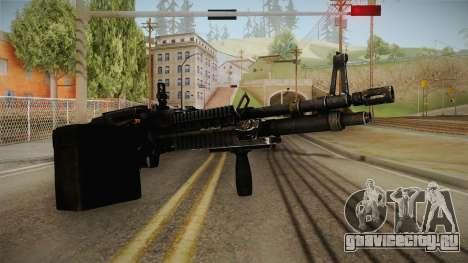 M60 Machine Gun для GTA San Andreas второй скриншот