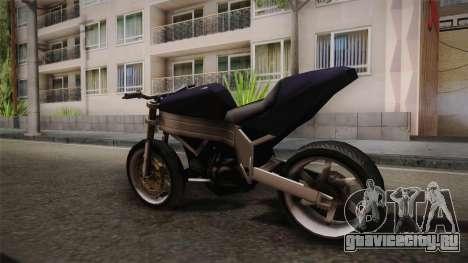 FCR-900 Stunt v1 для GTA San Andreas вид сзади слева