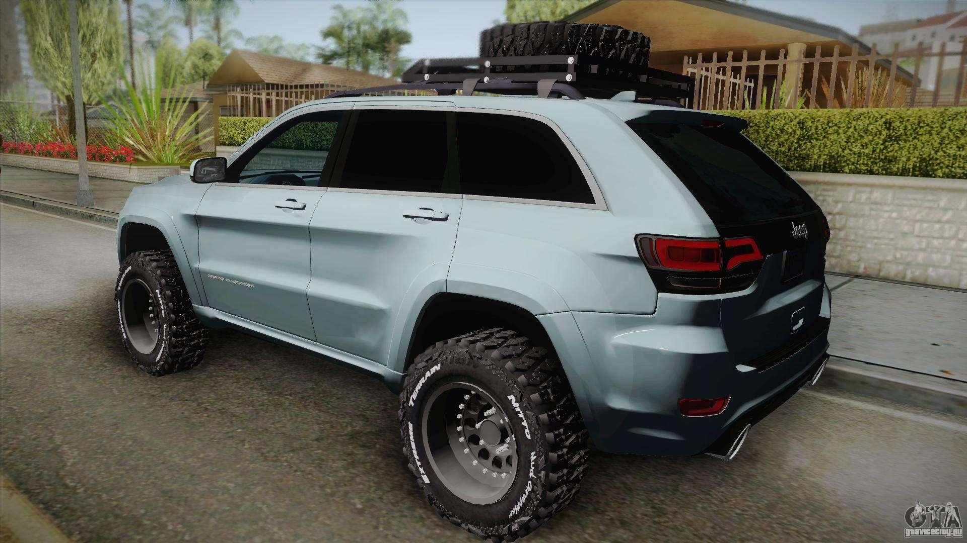 2017 Jeep Cherokee Lifted >> Jeep Grand Cherokee SRT Lifted для GTA San Andreas