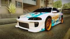 Mitsubishi Eclipse Tachibana Sylphynford Itasha для GTA San Andreas