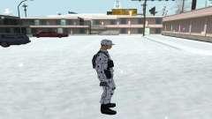 Зимний Скин (Army) 1.1 для GTA San Andreas