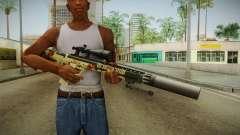 DesertTech Weapon 1 Camo Silenced для GTA San Andreas