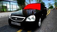 ВАЗ 2170 чёрный для GTA San Andreas