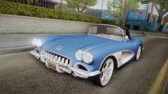 Chevrolet Corvette C1 1959 для GTA San Andreas